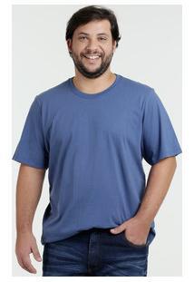 Camiseta Masculina Plus Size Manga Curta Kohmar