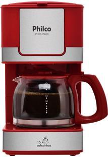 Cafeteira Philco Ph16 - 550W, Capacidade De 15 Xícaras, Filtro Permanente Removível, Sistema Corta Pingos, Aquecimento Que Não Altera O Sabor!