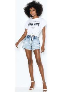 Bermuda Rihanna Unico Ber22319 Jeans Multicores