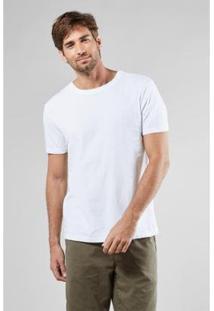 Camiseta Reserva Flame Estonada Verao 18 - Masculino-Branco
