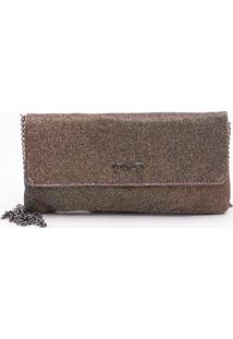 Bolsa Clutch Lurex Oil - P