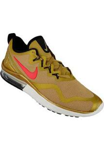 Tenis Running Ouro Air Max Fury Nike 61070037