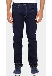 Calça Jeans Slim Colcci Alex Pesponto Masculina - Masculino