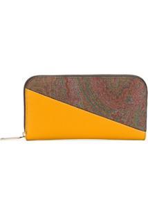 Etro Carteira Bicolor - Amarelo