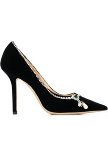 Jimmy Choo Scarpin 'Love' 100 - Preto