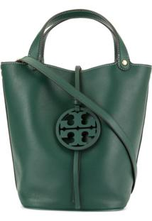 Tory Burch Mille Bucket Bag - Verde