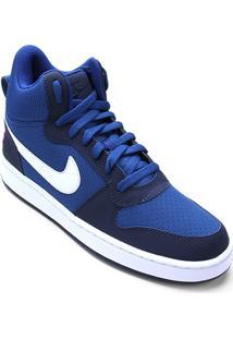 Tênis Couro Cano Alto Nike Recreation Mid Masculino - Masculino