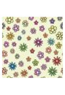 Papel De Parede Autocolante Rolo 0,58 X 3M - Floral 1306