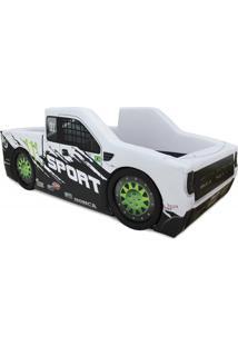 Cama Carro Camionete Sport Branco - Branco - Dafiti