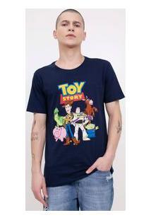 Camiseta Com Estampa Toy Story