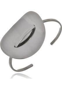 Bracelete Le Diamond Oval Rodio