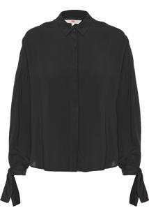 Camisa Feminina Terri - Preto