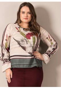 Blusa Esmeralda Lisamour