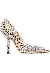 Midnight 00 Scarpin Animal Print - Marrom