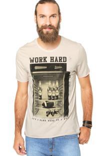 Camiseta Sommer Reta Cinza