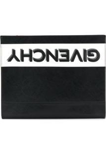 Givenchy Clutch Com Logo Invertido - Preto