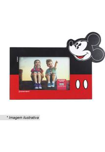 Porta Retrato Mickey Mouse® - Preto & Vermelho - 10Xzona Criativa