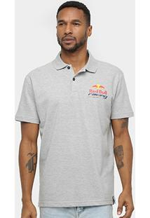Camisa Polo Red Bull Racing Stock Car Dynamic Masculina - Masculino