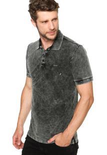 Camisa Polo Sommer Estonada Cinza