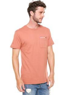 Camiseta Hang Loose Especial Pocket Coral