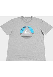 Camiseta Quiksilver Plus Size Fluid Turns Masculina - Masculino