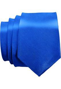 Gravata Unyforme Slim Azul Royal