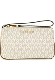 Michael Michael Kors Carteira Jetset Travel Lg - Neutro