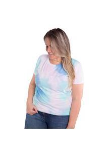 Camiseta Birdz Estampada Tiedye