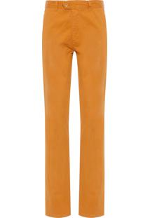 Calça Masculina Chino - Amarelo