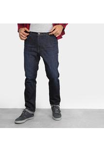 Calça Jeans Lost Denim Blue Black Masculina - Masculino-Azul Escuro