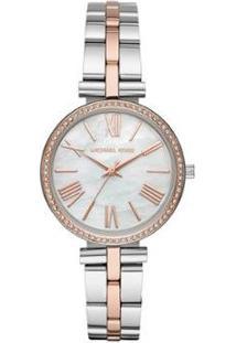 Relógio Michael Kors Maci Feminino - Feminino-Rose Gold