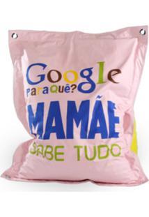 Puff Sacco Mamae Rosa Bebe Good Pufes