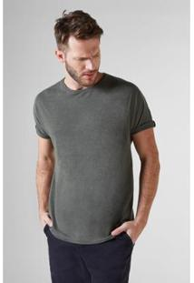 03a89852a0 ... Camiseta Reserva T Mescla Masculina - Masculino-Verde Militar