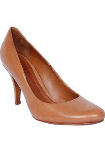 Schutz Sapato Tradicional Marrom Salto: 8,5Cm
