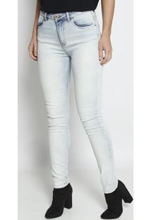 Jeans Marisa Skinny Estonado- Azul Claro- Forumforum