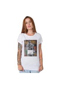 Camiseta Muhammad Ali Street Branco
