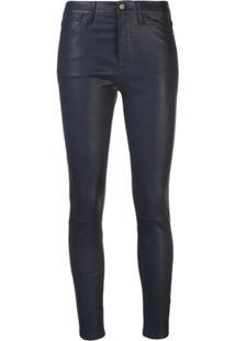 Frame Calça Jeans Skinny Cintura Alta - Moonlight Mnlt