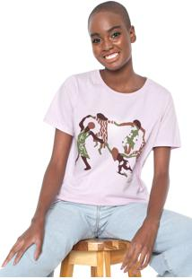 Camiseta Cantão Cirandeiras Rosa