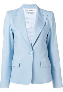 Filles A Papa Tailored Fit Blazer - Azul