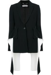 Givenchy Blazer Com Babados - Preto