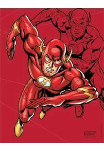 Quadro Zona Criativaliga Da Justiça Flash Vermelho