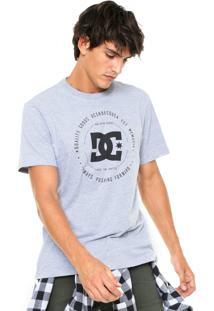 Camiseta Dc Shoes Line Cinza