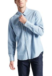 Camisa Jeans Levis Modern Classic Western - S