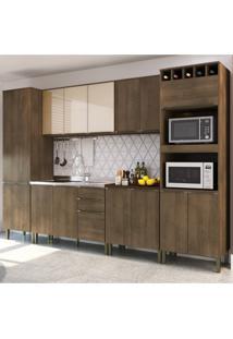 Cozinha Modulada Áustria A2888 - Casamia Elare