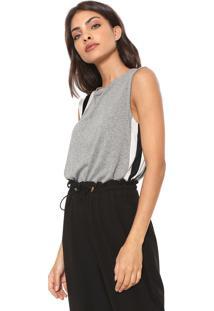 ... Regata Calvin Klein Jeans Listrada Cinza 53d08a65e8