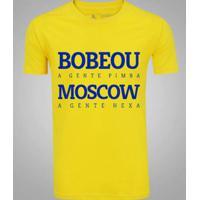 Camiseta Zé Carretilha Brasil Bobeou Masculina - Masculino 3b3d83c180e5e