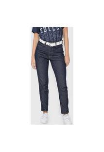 Calça Jeans Colcci Slim Bruna Azul-Marinho