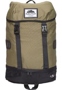 Mochila Masculina Bucket Backpack - Verde