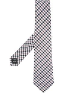 Gieves & Hawkes Gravata De Seda Xadrez - Estampado