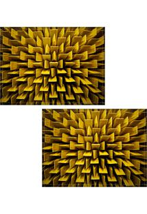 Jogo Americano Colours Creative Photo Decor - Acústico - 2 Peças